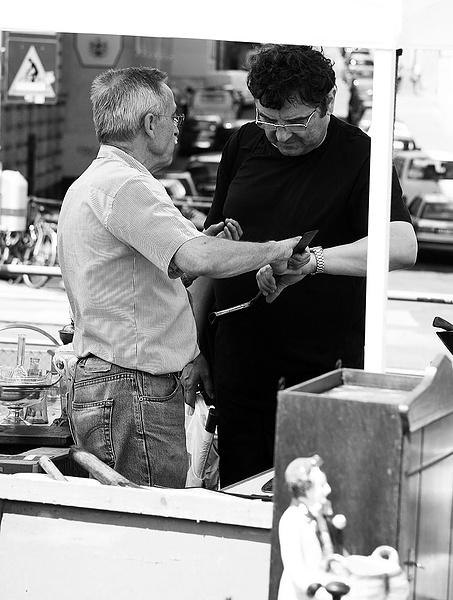 Торговец — блошиный рынок, Вена