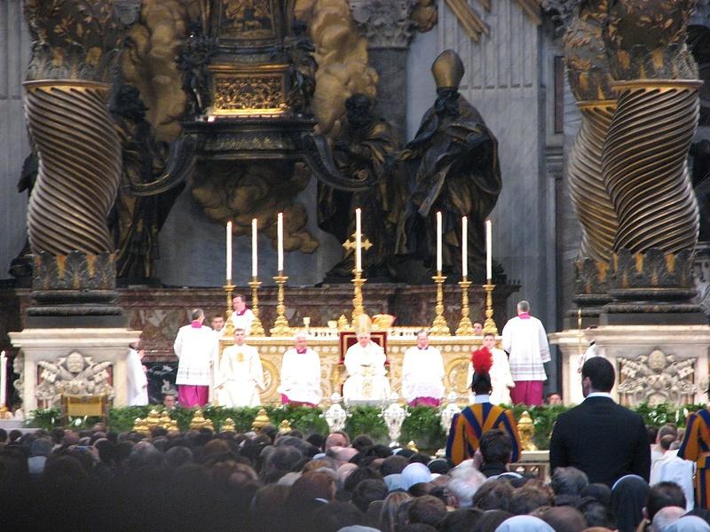И в Риме Папу повидал