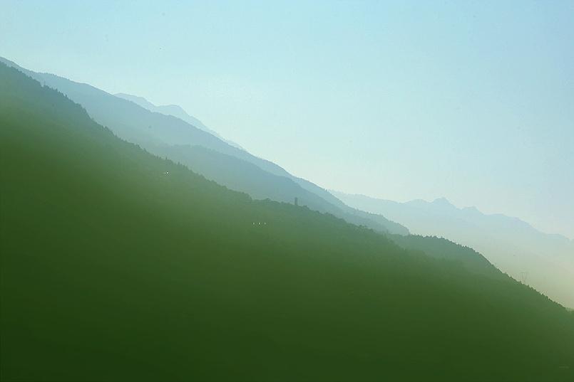 Где-то за Бергамо, на границе Швейцарии