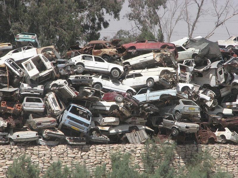Вот так умирают машины