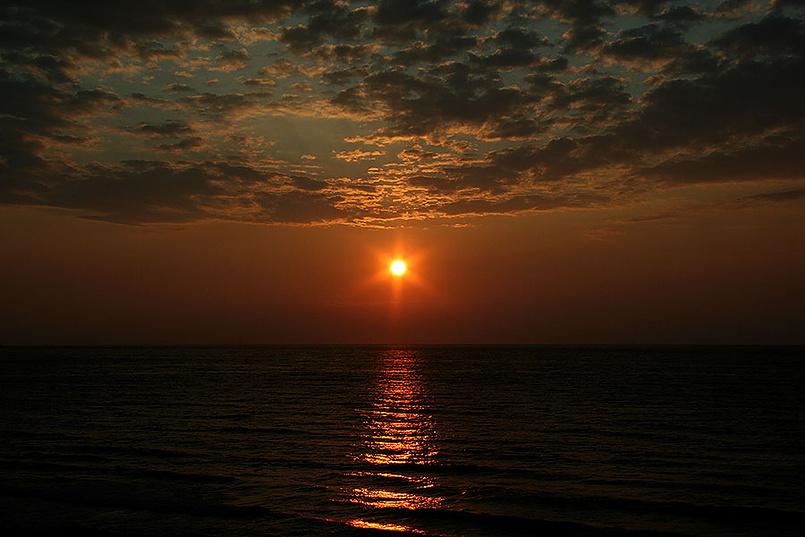 Восход в Диано Марина