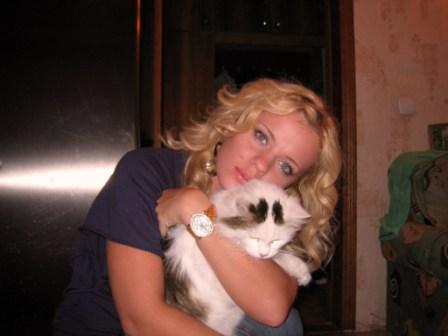мой кот Бантик...