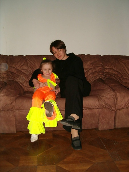 Это тоже я ( и Мосяня старшая- звезда кардебалета) пару годков назад