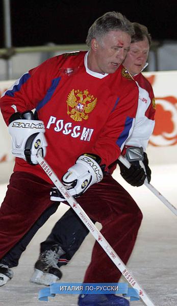 Турин 2006 в хоккей играют настоящие мужчины :)