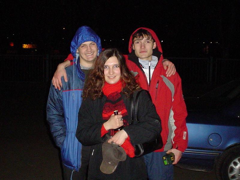 Я, сестра и маленький брата:-)