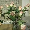 Бежевые розы!
