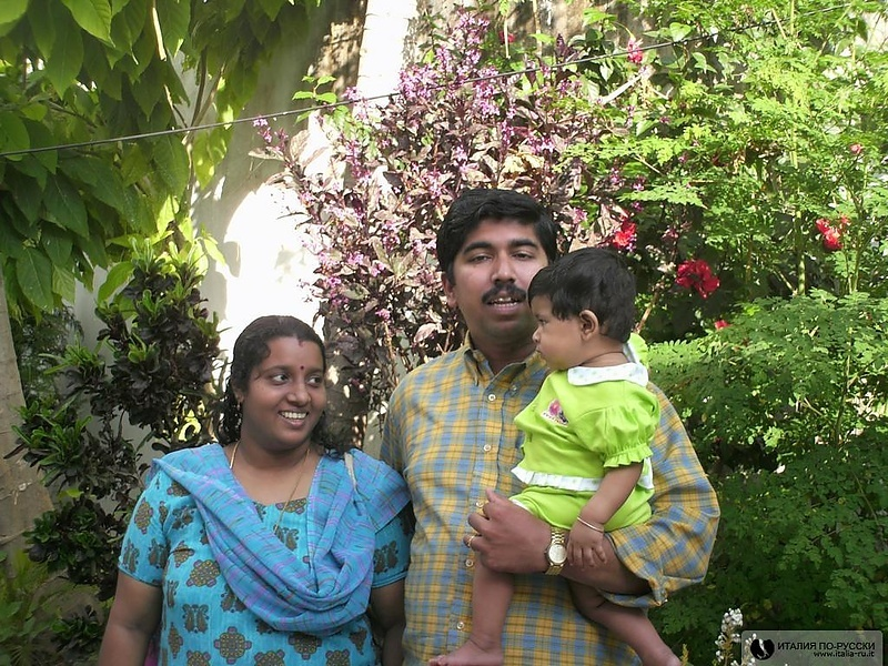 Семья доктора аюрведы из Кералы