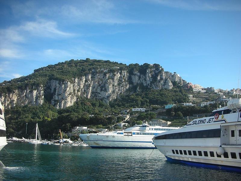 о.Капри.Порт Marina Grande