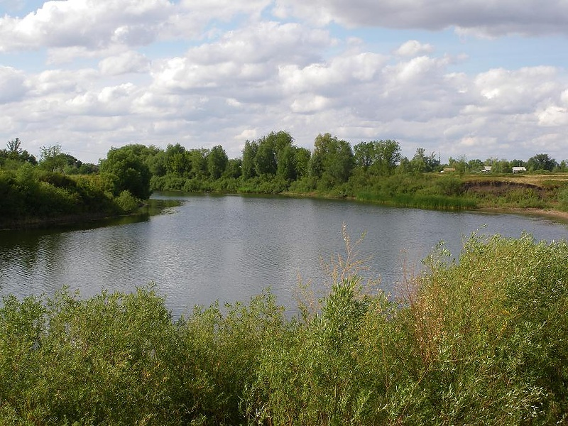 Река степей Заволжья