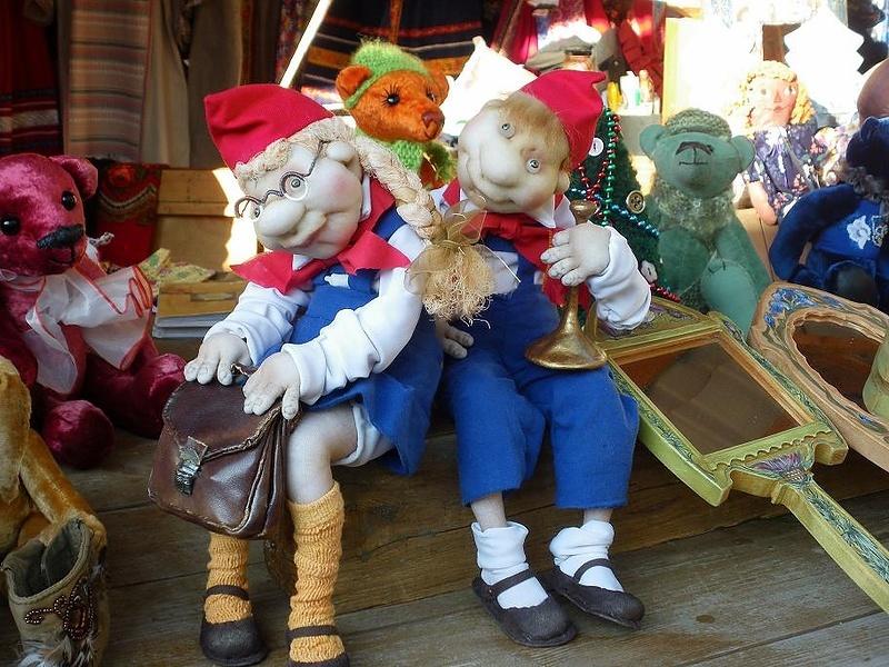 Куклы-пионеры