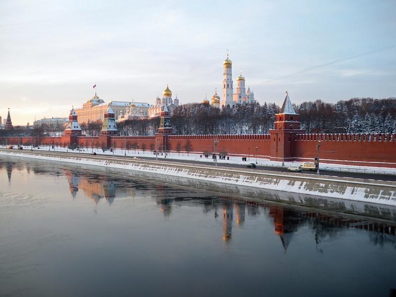 Первая прогулка в Новом году: Москва зимняя