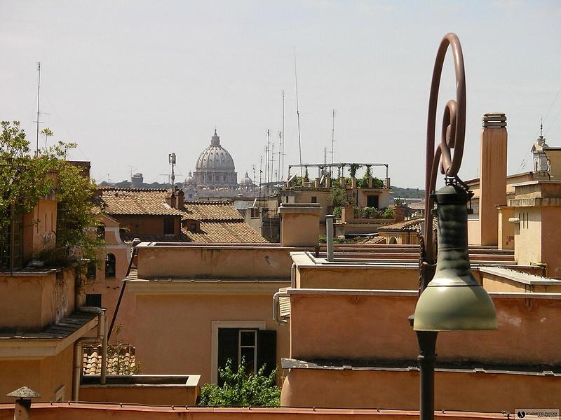 Вид на Собор Св.Петра (Рим)