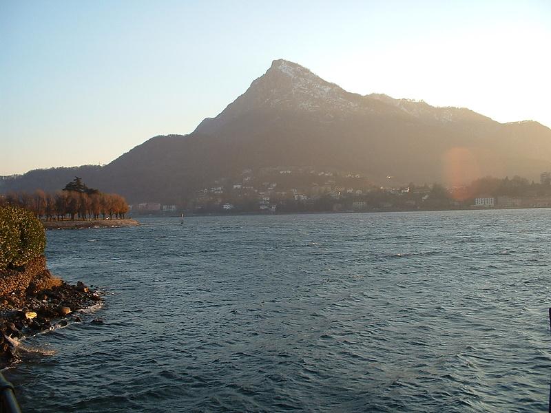 Lago di Como, dicembre