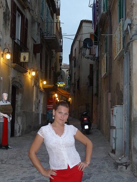 Просто я, просто в Италии