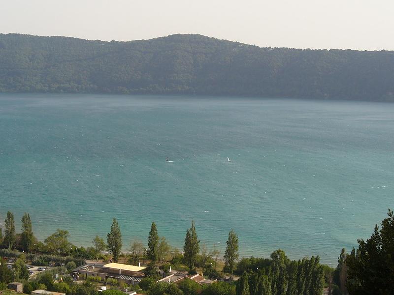 Озеро Альбано. (Lago di Albano)