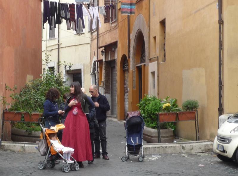 Madonna Nuova di Trastevere:-)