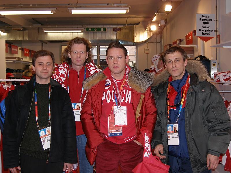 Телекомпания НТВ+ на олимпиаде
