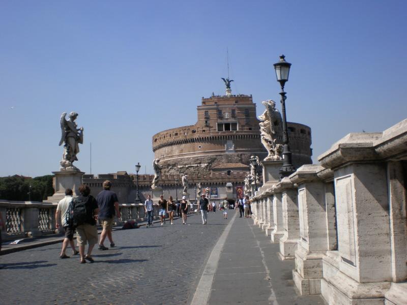 Замок св. Ангела - castel S.Angelo