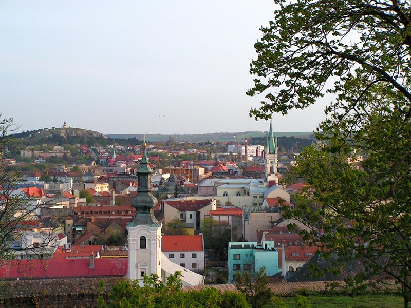 Словакия.Панорама Митры.