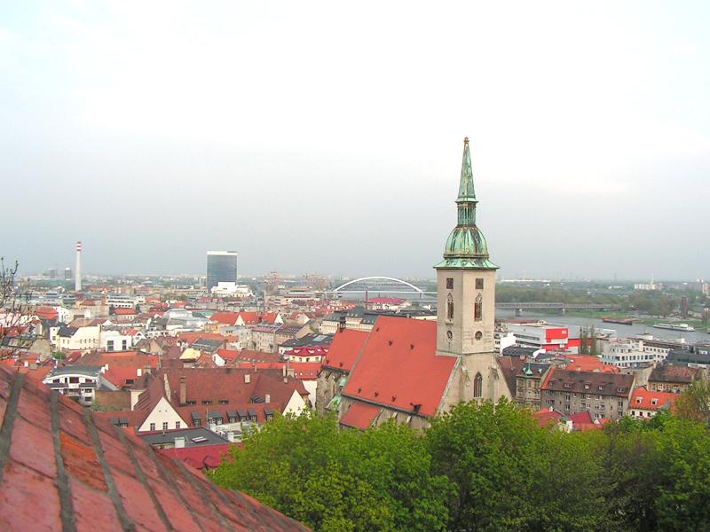 Братислава.панорама