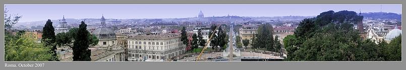 Рим Панорама