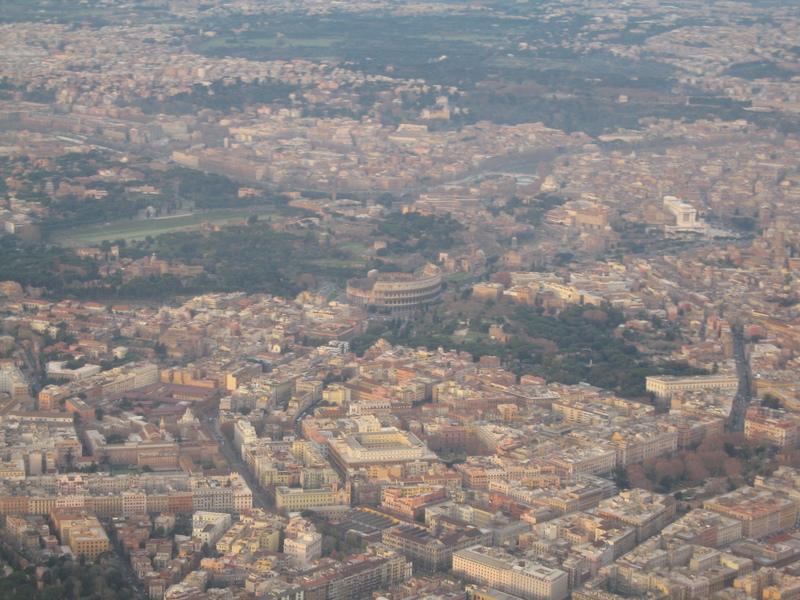 кадр из самолёта