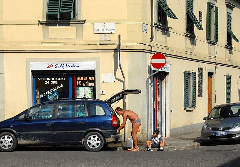 вчера во Флоренции
