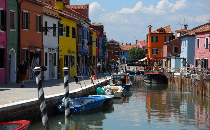 о. Бурано, Венеция