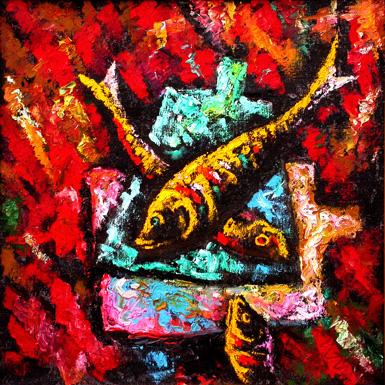 Рыбы-натюрморт