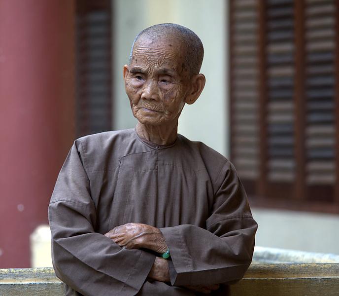 вьетнамская монашка