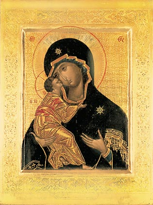 Сегодня чествуют Владимирскую икону Божией Матери