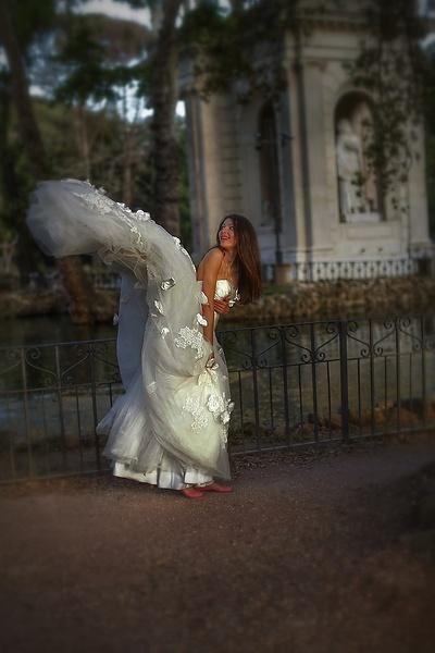 Мои фотоработы в Риме. Невеста.
