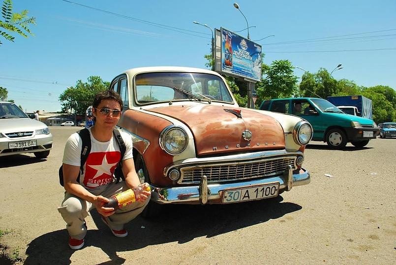 я в Ташкенте