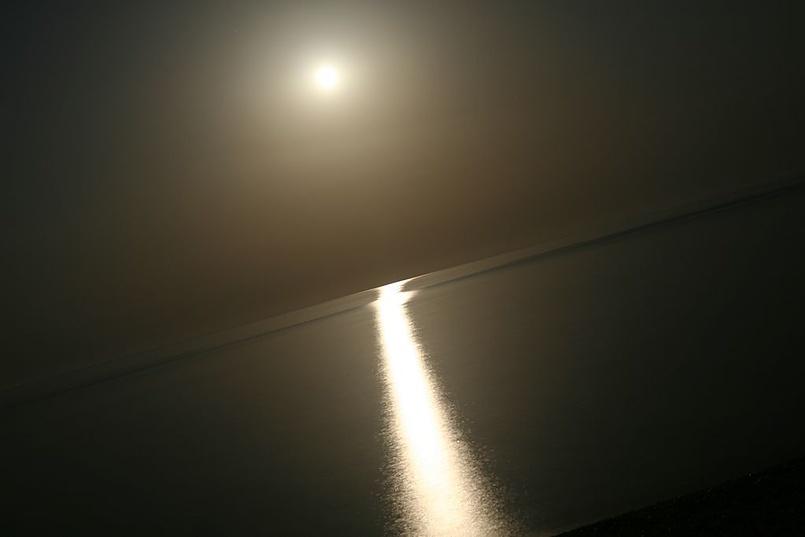 ...лунная дорожка