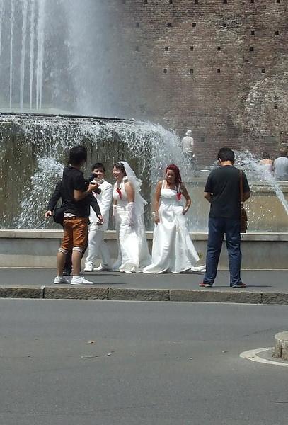 Китайская свадьба 2Х2