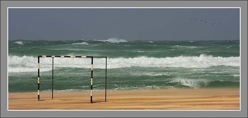 Средиземное море. Шторм.
