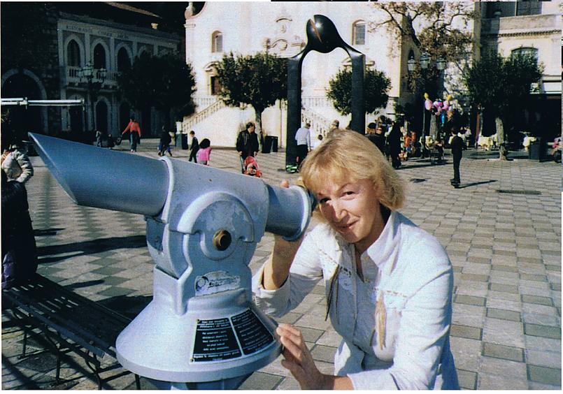 В г.Таормина на площади 9 апреля.