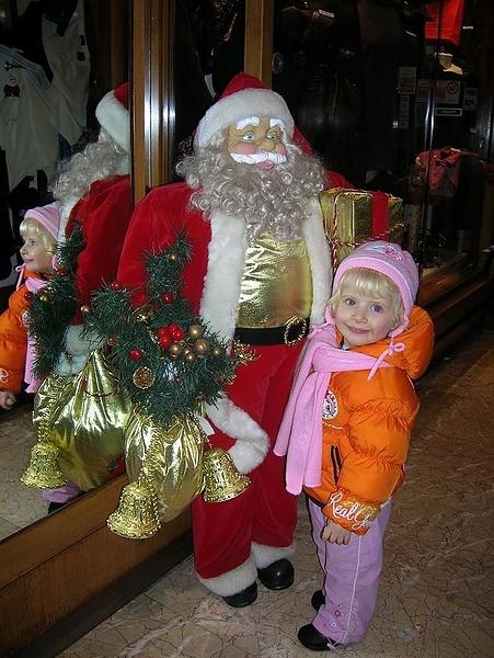 Яна раскручивает Деда Мороза на Чиччо Бэлло