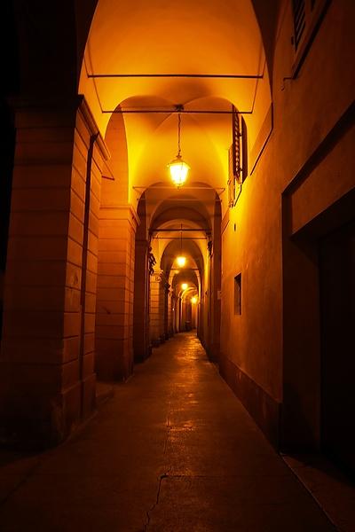 I portici di Modena.