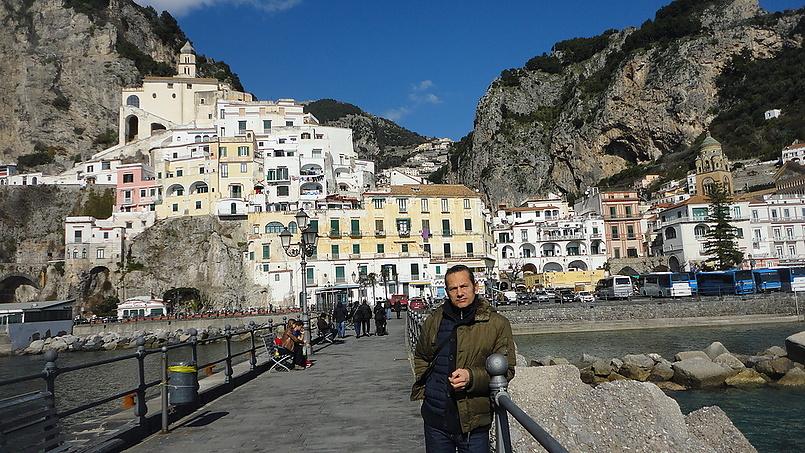 Амалфи горолок на юге Италии