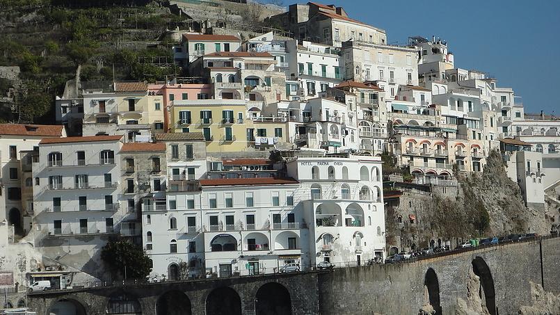 Амалфи город на юге Италии.