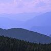Альпийские горы, как морские волны1