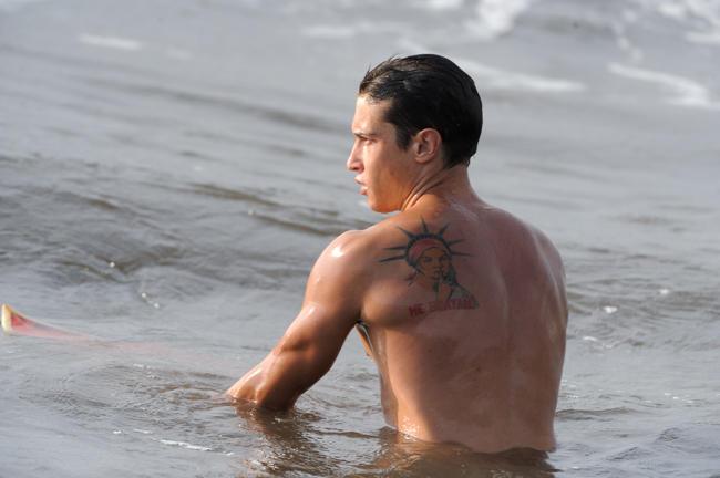 итальянский серфист