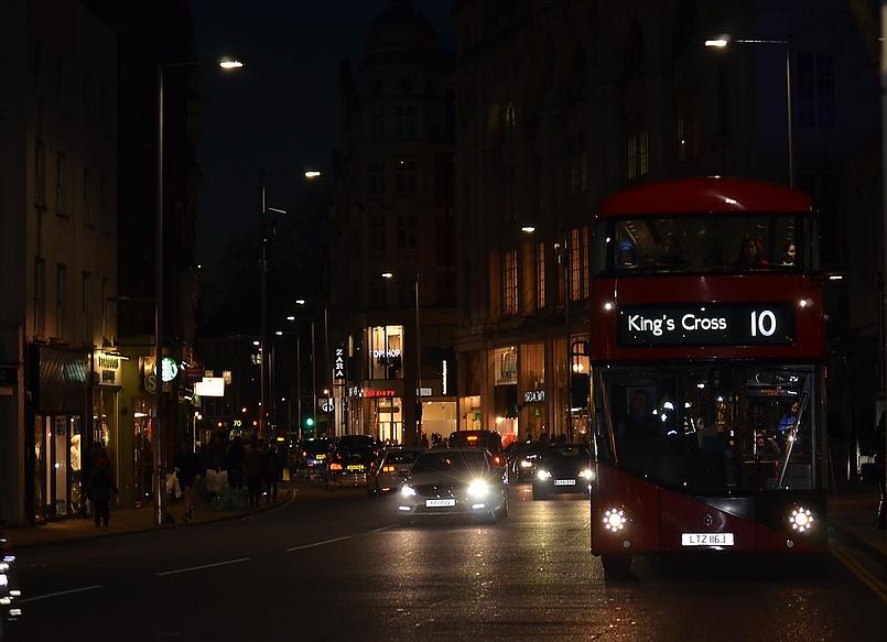 Улицы Лондона. Вечер