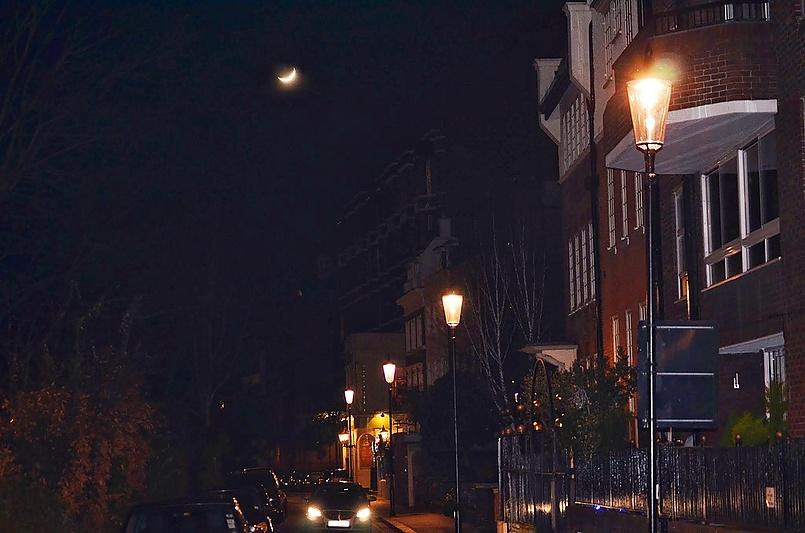 Романтика вечерних улиц.