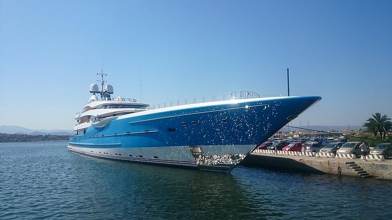 яхта Андрея