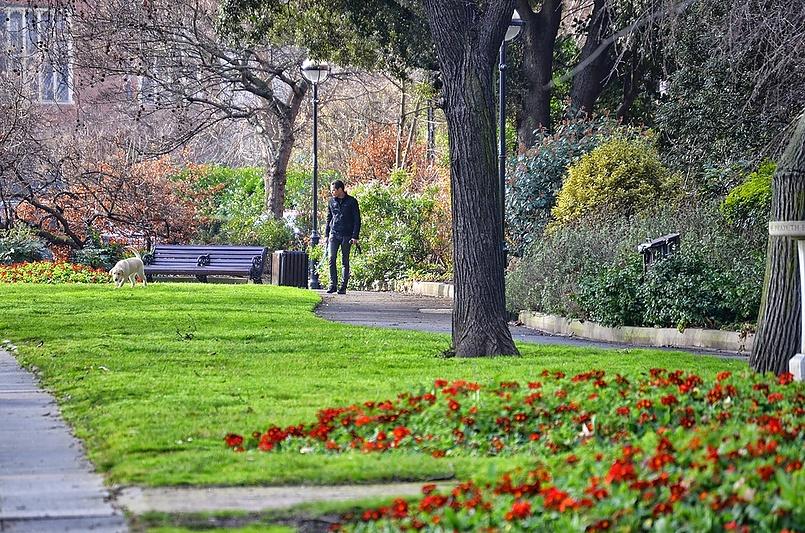 Весна в Лондоне. Челси.