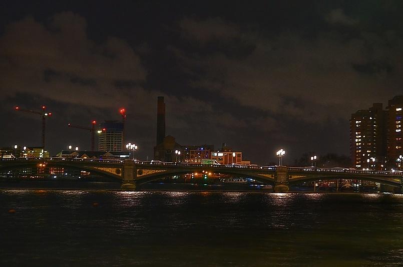 Ночные мосты Лондона.