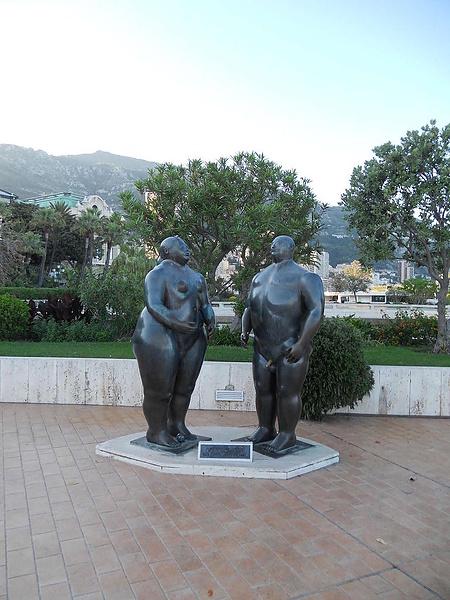 Ботеро. Адам и Ева