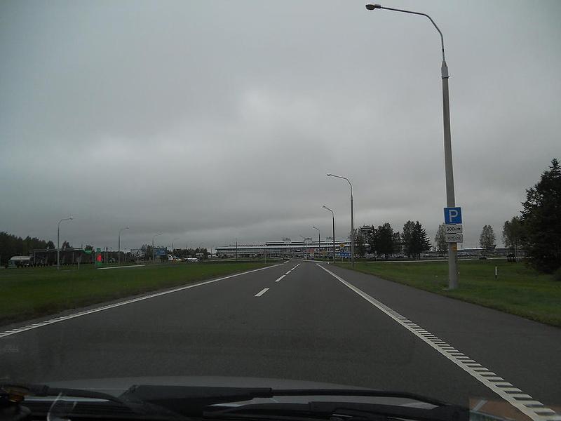 Беларусь, Минск, по дороге в аэропорт